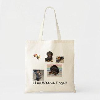 Weenie Dog bag