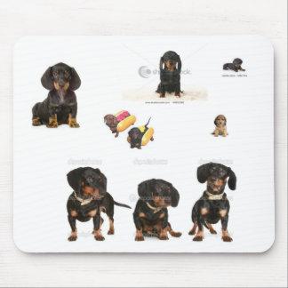 weenie dog mousepad
