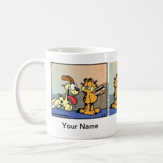 """Weenie of Life"" Garfield Comic Strip Classic White Coffee Mug"