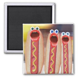 Weenie People 2 Inch Square Magnet