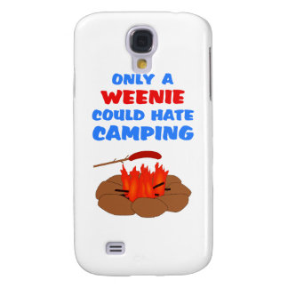 Weenies Hate Camping Samsung Galaxy S4 Covers
