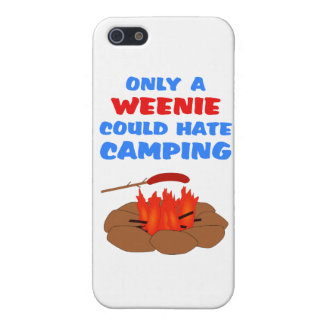 Weenies Hate Camping Cases For iPhone 5
