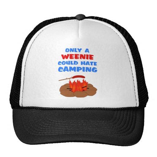 Weenies Hate Camping Trucker Hat