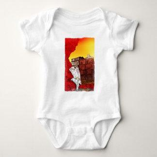 Weeping Angel Baby Bodysuit