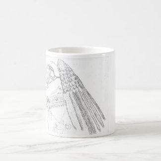 """Weeping Angel "" Cup Classic White Coffee Mug"