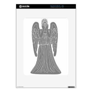 Weeping Angel Decals For The iPad