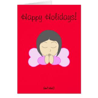 Weeping Angel Inspired Card