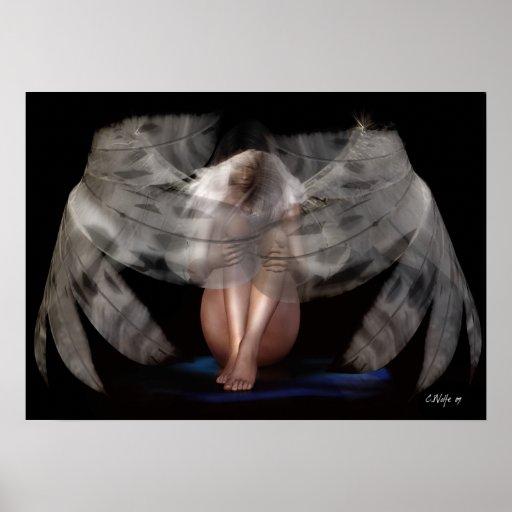 'Weeping Angel' Print