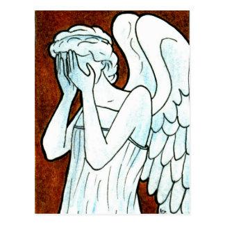 Weeping Angel Series Postcard