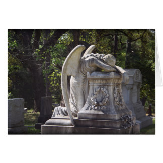 weeping angel stationery note card