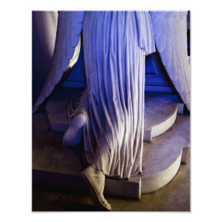 Weeping Angel statue Photo Print