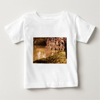 Weeping Cherry Blossoms in Sunlight Baby T-Shirt
