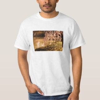 Weeping Cherry Blossoms in Sunlight T-Shirt