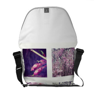 Weeping Cherry Messenger Bag