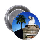 Weeping child / Angel- New Orleans Cemetery Pinback Button