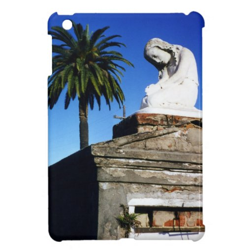 Weeping child / Angel- New Orleans Cemetery iPad Mini Case