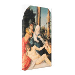 Weeping Christ by Baldung Canvas Prints