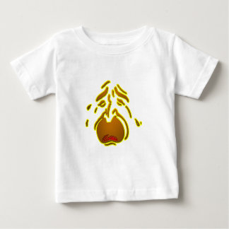 weeping-face-_-(white).png baby T-Shirt