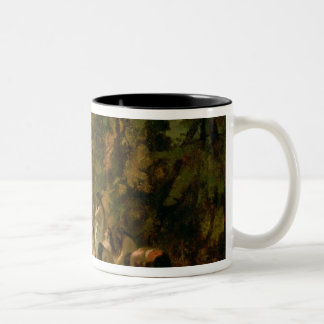 Weeping of the Daughter of Jephthah, 1846 Two-Tone Coffee Mug