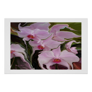 """""""WEEPING  ORCHIDS""""  PRINT"""