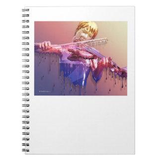 Weeping Violin notebook