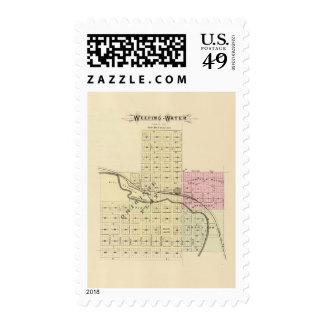 Weeping Water, Nebraska Postage Stamp