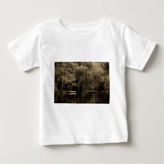Weeping willow and boat baby T-Shirt
