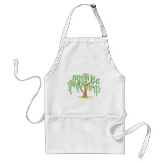 Weeping Willow Art Adult Apron