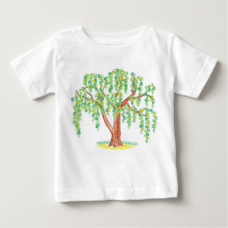 Weeping Willow Art Baby T-Shirt