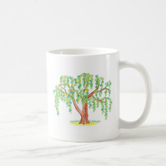 Weeping Willow Art Classic White Coffee Mug