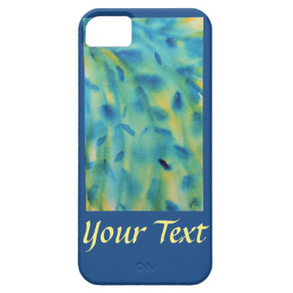Weeping willow branches abstract watercolor iPhone SE/5/5s case