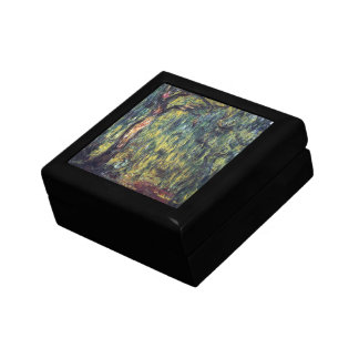 Weeping Willow by Claude Monet, Vintage Fine Art Gift Box