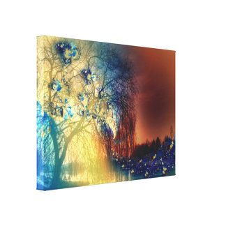 Weeping Willow - Canvas Print
