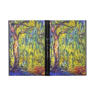 Weeping Willow Claude Monet Covers For iPad Mini