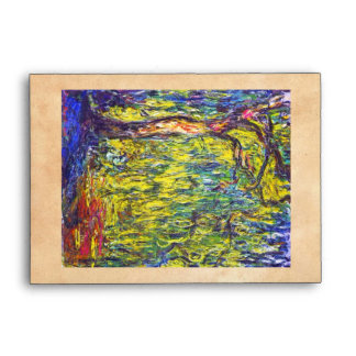 Weeping Willow Claude Monet Envelope