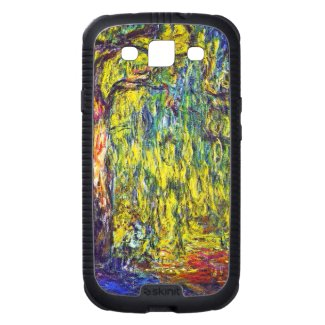 Weeping Willow Claude Monet Galaxy S3 Case