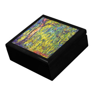 Weeping Willow Claude Monet Jewelry Boxes