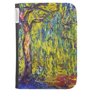 Weeping Willow Claude Monet Kindle 3 Cover