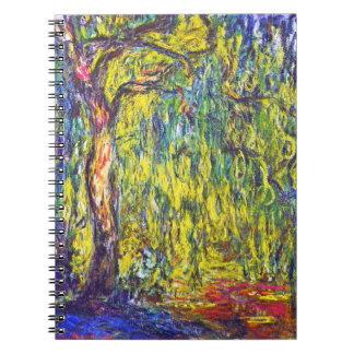Weeping Willow Claude Monet Notebook