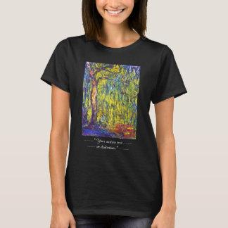 Weeping Willow Claude Monet T-Shirt