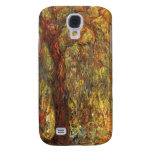 Weeping Willow, Claude Monet Vintage Impressionism Samsung Galaxy S4 Cover