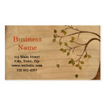 Weeping Willow Double-Sided Standard Business Cards (Pack Of 100)