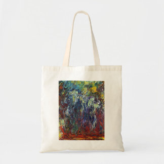 Weeping Willow, Giverny Claude Monet  painting Tote Bag