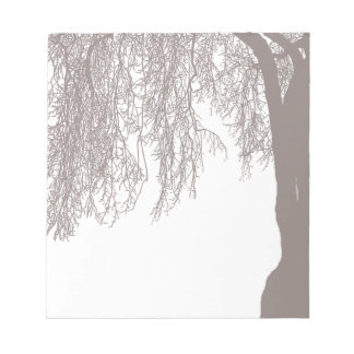 Weeping Willow Note Pad