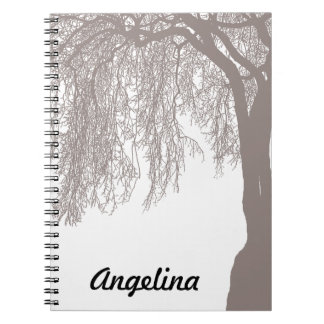 Weeping Willow Notebook