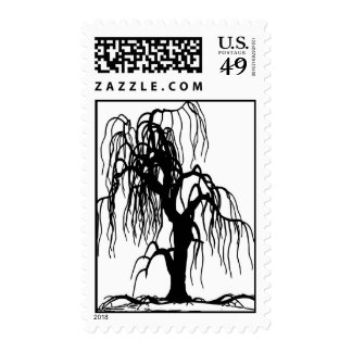 WEEPING WILLOW POSTAGE STAMPS