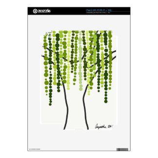 weeping willow skin for the iPad 2