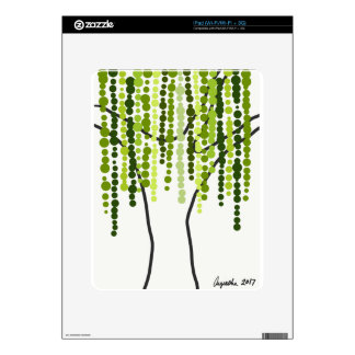 weeping willow skins for the iPad