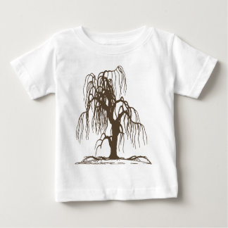 Weeping Willow Tree Baby T-Shirt
