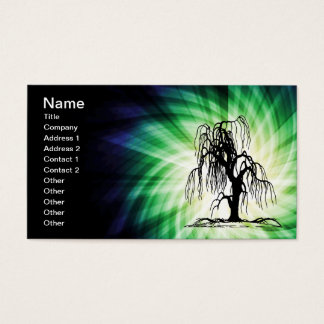 Weeping Willow Tree Business Card